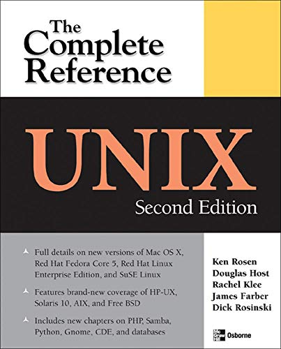 UNIX: The Complete Reference, Second Edition (Complete Reference Series)