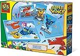 SES Creative–superwings Cuadro Mosaico con Tarjetas Super Wings, 14009
