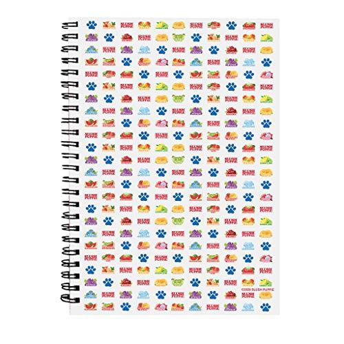 Slush Puppie Icon Pattern Spiral Notebook
