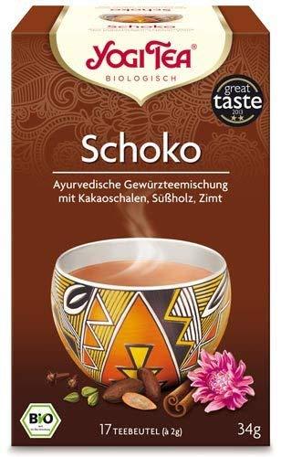 Yogi Tee, Schoko, vormals Mexican Spice, 17 Teebeutel, 30,6g