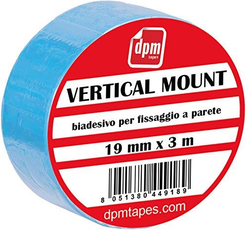 Vertical Mount – Duplocoll 918 – doppelseitiges Klebeband für vertikale Montage – Montage von Spiegel (19 mm x 3 m) – 1 Stück