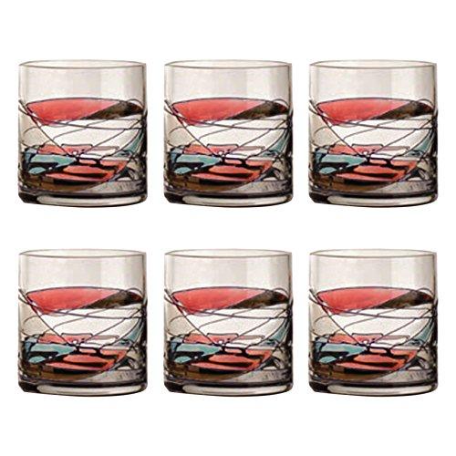 CRISTAL DE PARIS-Drageoir Galleria 6 Pièces Verre à Whisky-Lot de 6