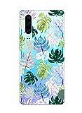 Suhctup Compatible con Huawei P9 Lite Funda Flor de TPU Transparente Diseño de Flores Patrón Cárcasa Ultra Fina Suave con Dibujos Claro Silicona Antigolpes Proteccion Caso(A3)