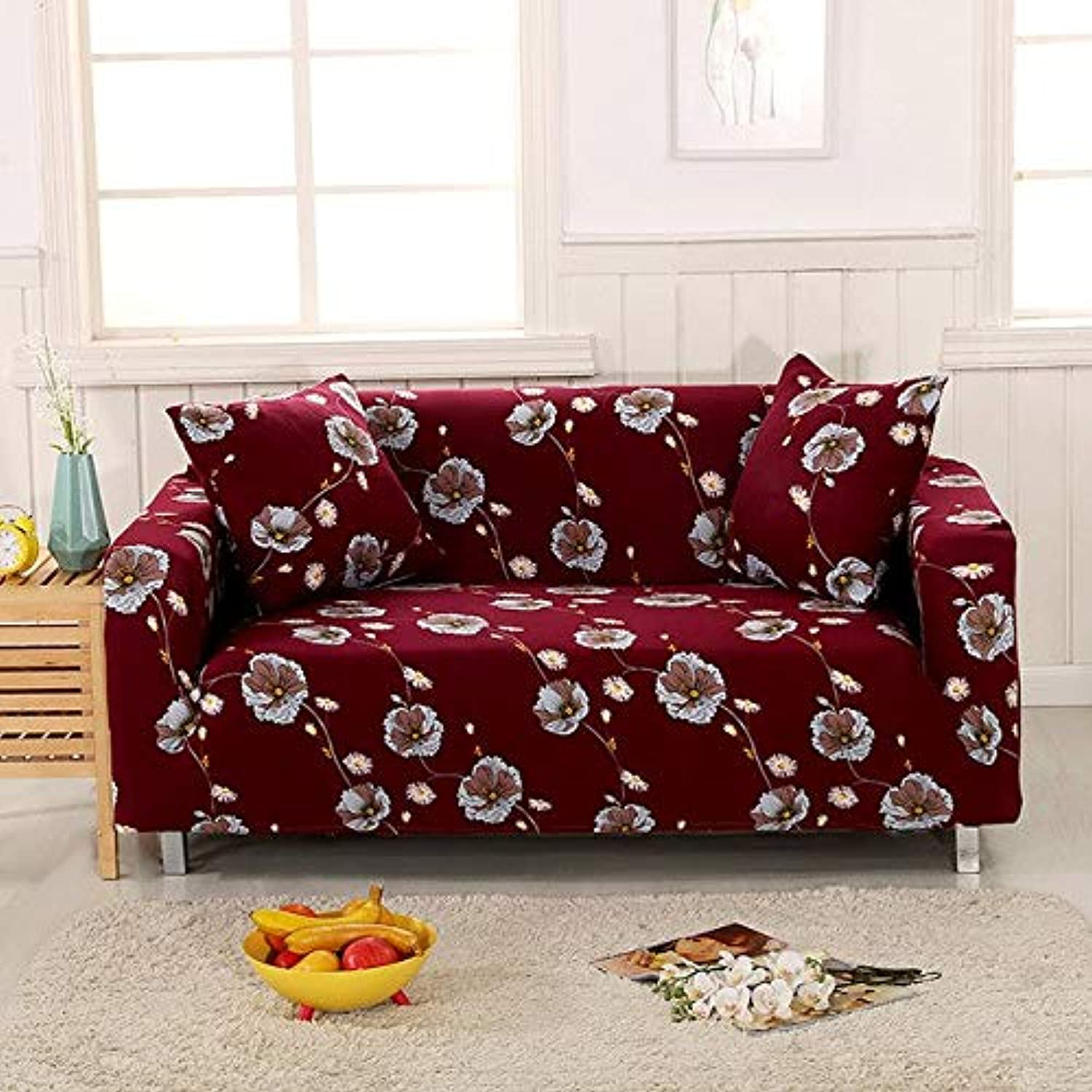 Sofa Slipcovers Tight wrap All-Inclusive Slip-Resistant sectional Elastic Full Sofa Cover S M L XL Size   20163329, S 90-140cm