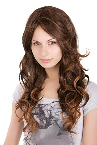 comprar pelucas marron con mechas en internet