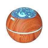 Diffusore di Aromi UltrasonicO Aroma Humidifier Light Shadow Legno Aromaterapia Aromaterapia Macchina Silenzioso Essenziale Diffusore Olio Atomizzatore