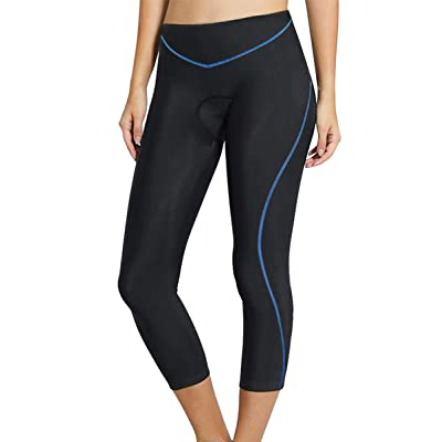 Twotwowin Women's 3D Padded Cycling Tights Pant...