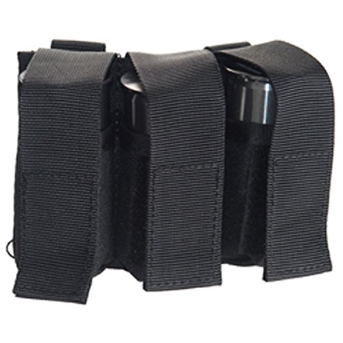 UKARMS Airsoft 40mm MOLLE M203 Grenade Pouch (Black) for CA-5xx and CA-60x Grenades