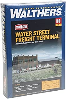 Walthers Cornerstone HO Scale Water Street Freight Term Structure Kit