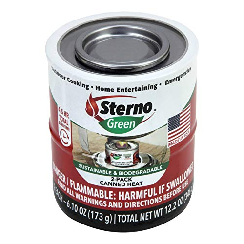 Sterno Group The 20366 2PK 7OZ Can Heat Fuel - Quantity 1