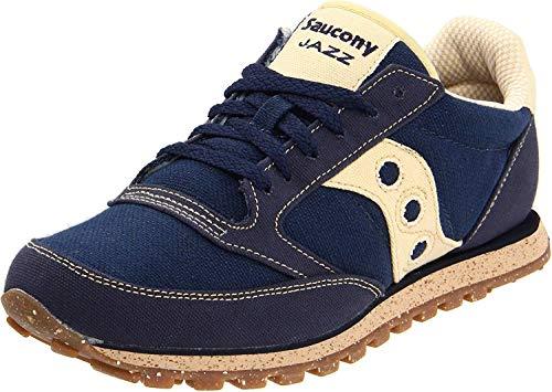Saucony mens Jazz Low Pro Vegan Sneaker, Navy, 8 M US