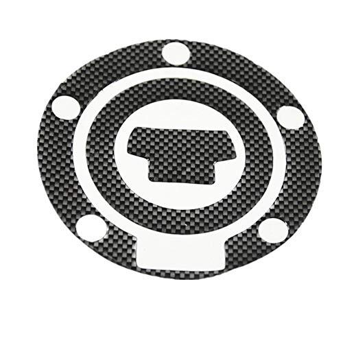 Schutz Aufkleber für Motorrad Öltank 1Pcs Carbon Fiber Fuel Gas Oil Cap Tankpad Tankpad-Schutz-Aufkleber for Motorrad allgemeinhin for Honda Suzuki Kawasaki Yamaha (Size : 03)