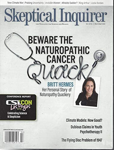 Skeptical Inquirer Magazine March April 2020