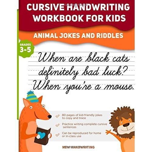 Cursive Handwriting Workbook for Kids First 500 Words