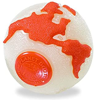 Planet Dogs Orbee Tuff Ball Orange Medium