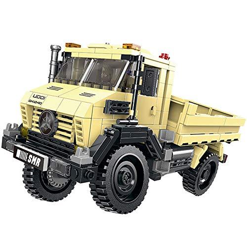Modbrix Bausteine LKW Uni Truck, Konstruktionsspielzeug, 490 Teile