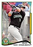 Dan Vogelbach baseball card (Chicago Cubs Kane County Cougars Seattle Mariners 1B) 2014 Topps Pro Debut #53 Rookie. rookie card picture