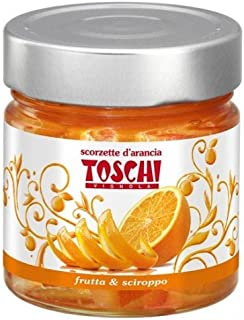 Candied Orange Peel Slices by Toschi (10.9 ounce)