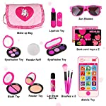 Beauty Shopping Kids Makeup Kit – Girl Pretend Play Makeup & My First Purse Toy for Toddler