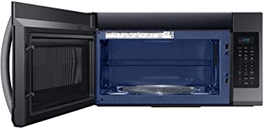 Samsung ME19R7041FG 1.9 Cu.Ft. Black Stainless Over The Range Microwave