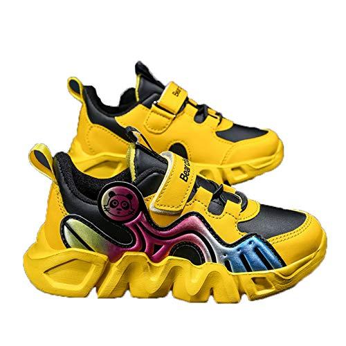 Zapatos Deportivos para niños Zapatillas Ligeras con Plataforma amortiguadora Zapatillas Informales para Exteriores Impermeables Antideslizantes para Correr para niños