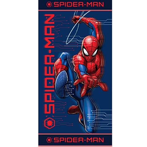 Telo mare in microfibra Spiderman 70 x 140 cm.