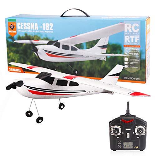 Flye Flugzeug Ferngesteuertes (WLtoys F949S), 6CH RC Flugzeug 2.4G Flugzeug Fernbedienung EPP Flugzeug Modell Flugzeug Spielzeug mit Gyroskop