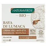 Naturaverde Crema Anti-Eta Restitutiva con Bava di Lumaca Pura - 100 gr