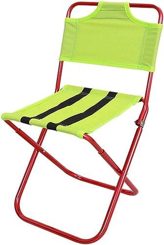 autentico en linea ZR Silla Plegable de Camping Mini Taburete Taburete Taburete Ligero portátil (Color   rojo)  wholesape barato