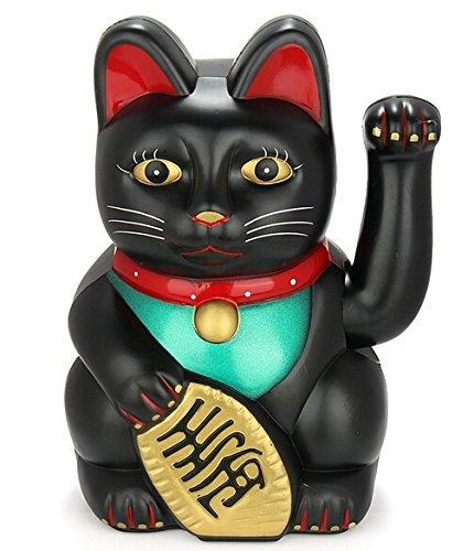 Monkey King Feng Shui Lucky Cats Lucky Beckoning Waving Wealth Cat Maneki...
