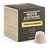 Note d'Espresso - Cápsulas de Tisana de Jengibre - Compatibles con Cafeteras Nespresso*