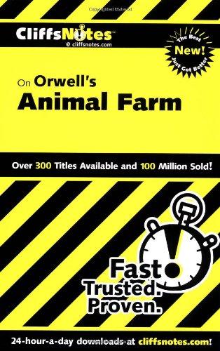 CliffsNotes on Orwell s Animal Farm (Dummies Trade)