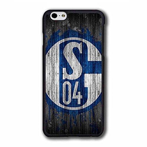 Omigod SchüTzende für iPhone 6S Schalke 04 Football Team Logo - Tumblr Sprüche iPhone 6 SchutzHülle Schalke 04 FußBall Club Retro Look iPhone 6 6S [4.7 Inch] Hülle Case Mädchen Matt