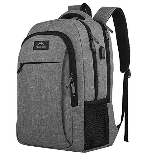 Travel Laptop Backpack, Business Anti Theft Slim Durable Laptops Backpack with USB Charging Port,...