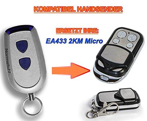 Normstahl EA433 2KM kompatibel handsender, 4-kanal ersatz sender, 433.92Mhz rolling code. Top Qualität ersatzgerät!!!