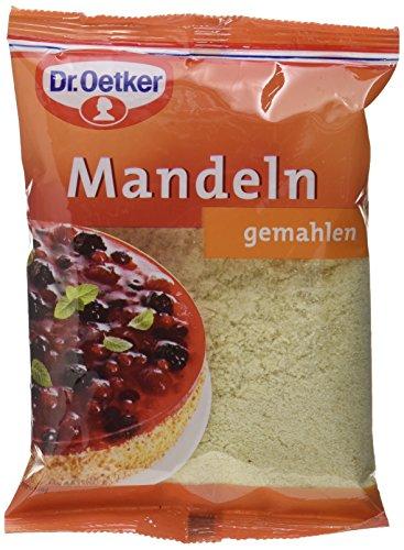 Dr. Oetker Mandeln gemahlen, 5er Pack (5 x 100 g)