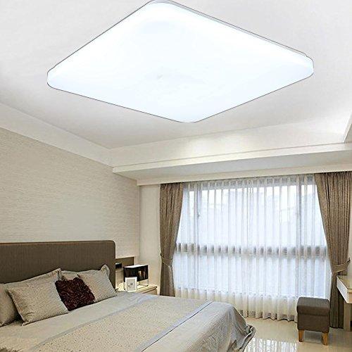 SAILUN 48W LED Bianco Freddo Quadrata Ultraslim Plafoniera Lampada a Soffitto Lampadina a Risparmio Energetico Corridoio per Lampada da Soggiorno Lampada da Cucina Camera da Letto