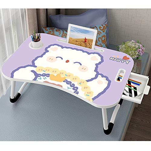 Lap Desk Student Study Desk Laptop Schreibtisch Schlafsaal Kleines Schreibtisch Schlafzimmer Multifunktionale...