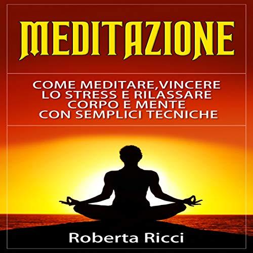 Meditazione copertina