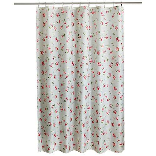 Rideaux de douche Rideau de douche imperméable à l'eau moisissure épaisse douche rideau salle de bain polyester rideau de douche tissu partition rideau (L x H cm) Rideaux de douche de haute qualité