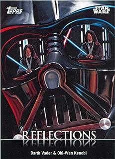Star Wars Card Trader 2016 Reflections R-2 Chase Card Darth Vader Obi-Wan Kenobi