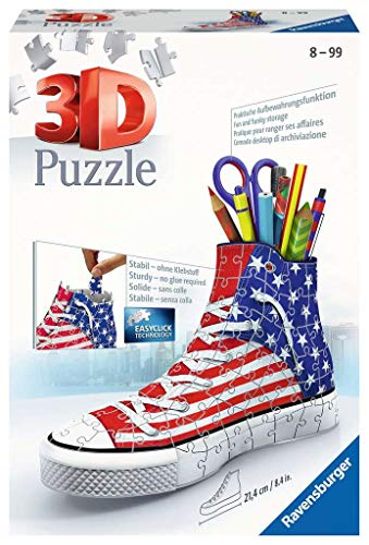 3D Puzzle Sneaker American Style