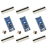 ELEGOO for Arduino Nano V3.0, Nano Board CH340/ATmega328P Without USB Cable, Compatible with Arduino Nano V3.0 (Nano x 3 Without Cable)