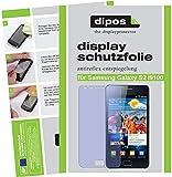 Dipos - Protector de pantalla para Samsung Galaxy S2 i9100 (antireflejos)