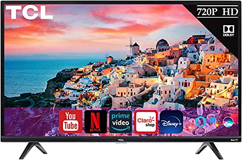 Televisión TCL de 32' Clase 720P HD LED Roku Smart TV PrimeVideo Netflix YOutube | Compatible con Alexa y Google Assistant 32S331(Renewed)
