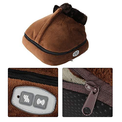 Velvet Calentador y masajeador de pies eléctrico para aliviar el dolor causado por la mala circulación sanguínea