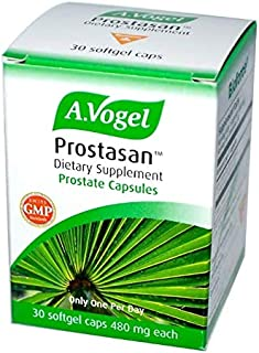 A. Vogel Prostasan Organic Saw Palmetto Berry 480mg Natural Urinary & Prostate Health - 30 Softgels