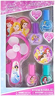 DISNEY PRINCESS Nail Polish with Fan, Multi-Colour, Dp3224Ga, 4 Pack