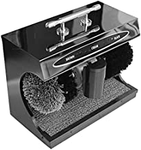 ZRB Electric Shoe Polisher Automatic Induction Dust Removal Treatment Shoes Cleaning Brush Kit Shoes Nursing Maintenance