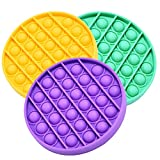 Endless Fun: Just press the mouse bubbles down and they make a slight popping sound; then flip it over and start again! Endlessly reusable and washable, too. Relieve stress: help restore the mood, home essentials, parent-child games, autism, games th...